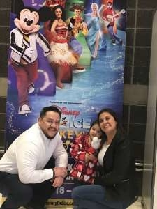 Angel attended Disney on Ice Presents Mickey's Search Party on Jan 16th 2020 via VetTix