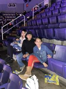 Cezar attended Disney on Ice Presents Mickey's Search Party on Jan 16th 2020 via VetTix
