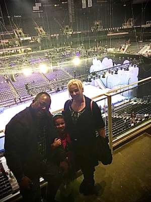 Eddison attended Disney on Ice Presents Mickey's Search Party on Jan 16th 2020 via VetTix