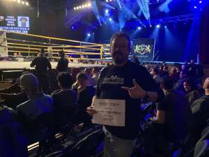 Lorenzo attended Lion Fight 61 - Full Rules Muay Thai - Presented by Lion Fight Promotions on Jan 11th 2020 via VetTix
