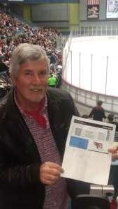 Roger attended Tucson Roadrunners vs. Ontario Reign - AHL on Dec 21st 2019 via VetTix