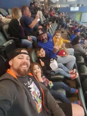 Daniel attended Tucson Roadrunners vs. Ontario Reign - AHL on Dec 21st 2019 via VetTix