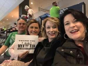 Raymond attended Tucson Roadrunners vs. Ontario Reign - AHL on Dec 21st 2019 via VetTix
