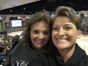 Colleen attended Tucson Roadrunners vs. Ontario Reign - AHL on Dec 21st 2019 via VetTix