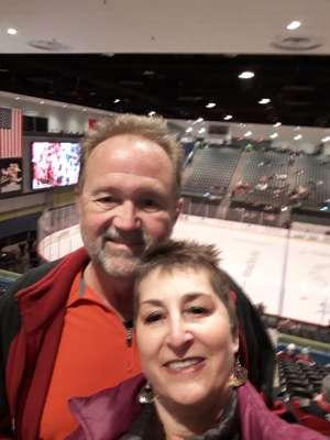 Gregory attended Tucson Roadrunners vs. Ontario Reign - AHL on Dec 21st 2019 via VetTix