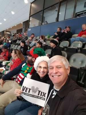 William attended Tucson Roadrunners vs. Ontario Reign - AHL on Dec 21st 2019 via VetTix