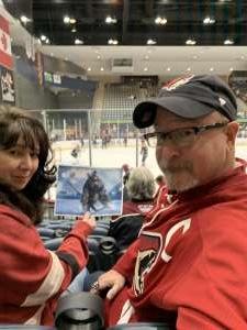 richard attended Tucson Roadrunners vs. Ontario Reign - AHL on Dec 21st 2019 via VetTix