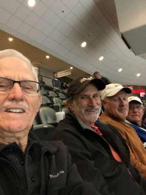 Paul attended Tucson Roadrunners vs. Ontario Reign - AHL on Dec 21st 2019 via VetTix