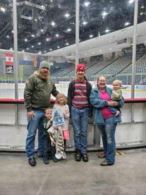Charles attended Tucson Roadrunners vs. Ontario Reign - AHL on Dec 21st 2019 via VetTix