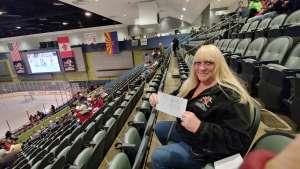 Kristyn attended Tucson Roadrunners vs. Ontario Reign - AHL on Dec 21st 2019 via VetTix