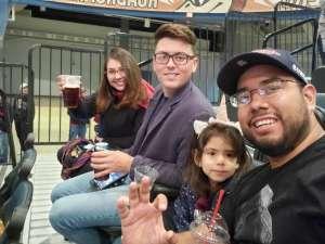 Alvaro attended Tucson Roadrunners vs. Ontario Reign - AHL on Dec 21st 2019 via VetTix