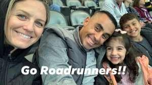 Josiah attended Tucson Roadrunners vs. Ontario Reign - AHL on Dec 21st 2019 via VetTix