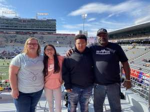 Dwight attended 2019 Nova Home Loans Arizona Bowl: Georgia State Panthers vs. Wyoming Cowboys on Dec 31st 2019 via VetTix
