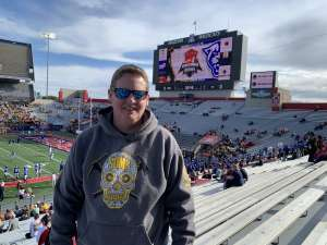 Teresa attended 2019 Nova Home Loans Arizona Bowl: Georgia State Panthers vs. Wyoming Cowboys on Dec 31st 2019 via VetTix