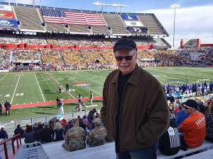 William attended 2019 Nova Home Loans Arizona Bowl: Georgia State Panthers vs. Wyoming Cowboys on Dec 31st 2019 via VetTix