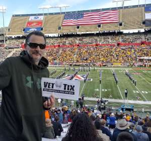 David attended 2019 Nova Home Loans Arizona Bowl: Georgia State Panthers vs. Wyoming Cowboys on Dec 31st 2019 via VetTix