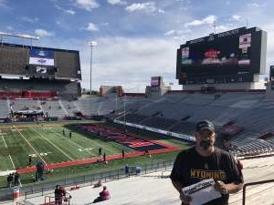 Michael attended 2019 Nova Home Loans Arizona Bowl: Georgia State Panthers vs. Wyoming Cowboys on Dec 31st 2019 via VetTix