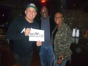 Gus attended Comedian Craig Gass From Family Guy, King of Queens & S**x and the City on Dec 15th 2019 via VetTix