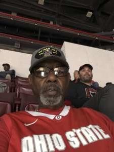 Terrell attended Ohio State Buckeyes vs. Southeast Missouri State - NCAA Mens Basketball on Dec 17th 2019 via VetTix