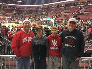 SCOTT attended Ohio State Buckeyes vs. Southeast Missouri State - NCAA Mens Basketball on Dec 17th 2019 via VetTix