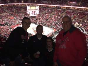 Bruce attended Ohio State Buckeyes vs. Southeast Missouri State - NCAA Mens Basketball on Dec 17th 2019 via VetTix