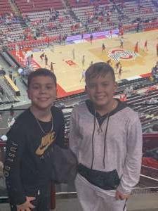 Niola attended Ohio State Buckeyes vs. Southeast Missouri State - NCAA Mens Basketball on Dec 17th 2019 via VetTix