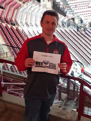 John attended Ohio State Buckeyes vs. Southeast Missouri State - NCAA Mens Basketball on Dec 17th 2019 via VetTix