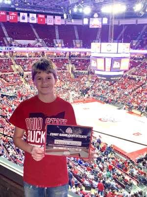 Robert attended Ohio State Buckeyes vs. Southeast Missouri State - NCAA Mens Basketball on Dec 17th 2019 via VetTix
