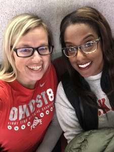 Erica attended Ohio State Buckeyes vs. Southeast Missouri State - NCAA Mens Basketball on Dec 17th 2019 via VetTix