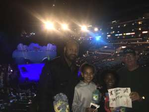 Gerald attended Disney on Ice Presents Mickey's Search Party on Dec 12th 2019 via VetTix