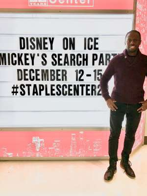 Eddie attended Disney on Ice Presents Mickey's Search Party on Dec 12th 2019 via VetTix