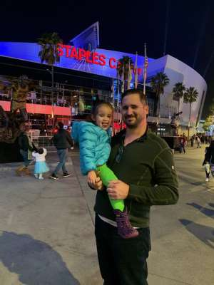 Alejandro attended Disney on Ice Presents Mickey's Search Party on Dec 12th 2019 via VetTix