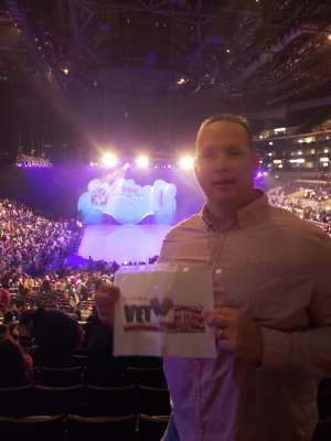 Robert attended Disney on Ice Presents Mickey's Search Party on Dec 12th 2019 via VetTix