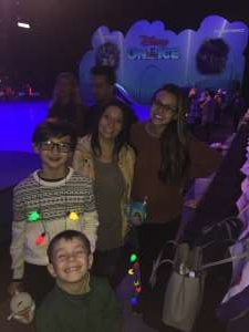 Megan attended Disney on Ice Presents Mickey's Search Party on Dec 12th 2019 via VetTix