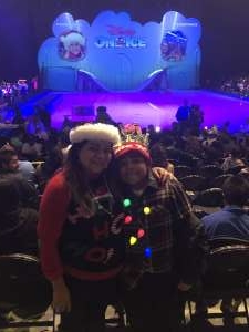 Carmen attended Disney on Ice Presents Mickey's Search Party on Dec 12th 2019 via VetTix