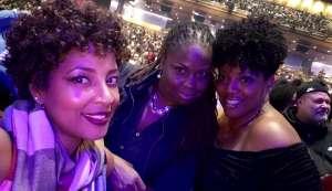 Angela attended Femme It Forward: XSCAP3, SWV & 702 on Dec 13th 2019 via VetTix