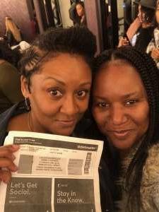 maria attended Femme It Forward: XSCAP3, SWV & 702 on Dec 13th 2019 via VetTix