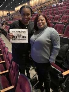 Cobb Family  attended Femme It Forward: XSCAP3, SWV & 702 on Dec 13th 2019 via VetTix