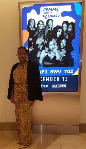 Anquanette attended Femme It Forward: XSCAP3, SWV & 702 on Dec 13th 2019 via VetTix