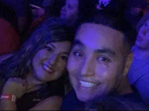 Alfonso attended The Selena Experience on Dec 28th 2019 via VetTix