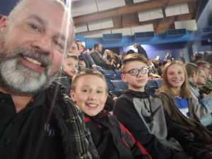 James attended Monster Jam Triple Threat Series on Feb 28th 2020 via VetTix