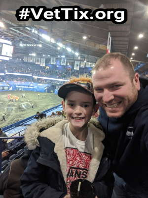 JC attended Monster Jam Triple Threat Series on Feb 28th 2020 via VetTix