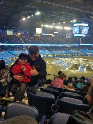 Jason attended Monster Jam Triple Threat Series on Feb 28th 2020 via VetTix