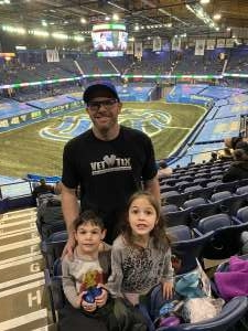 Chris attended Monster Jam Triple Threat Series on Feb 28th 2020 via VetTix