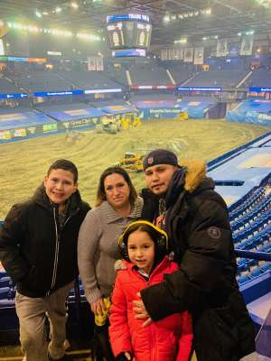 Rebecca Lopez attended Monster Jam Triple Threat Series on Feb 28th 2020 via VetTix