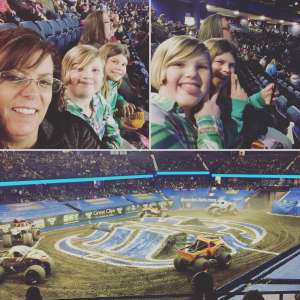 D. Reel attended Monster Jam Triple Threat Series on Feb 28th 2020 via VetTix