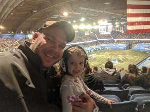 Doug attended Monster Jam Triple Threat Series on Feb 28th 2020 via VetTix
