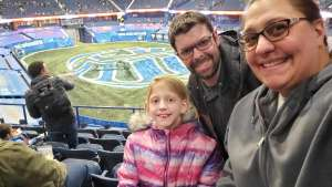 Sonya Morgan attended Monster Jam Triple Threat Series on Feb 28th 2020 via VetTix