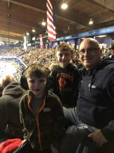 Andrew attended Monster Jam Triple Threat Series on Feb 28th 2020 via VetTix