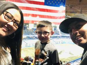 Aleman Family attended Monster Jam Triple Threat Series on Feb 28th 2020 via VetTix